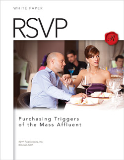 RSVP White Paper - Purchasing Triggers of the Mass Affluent